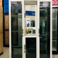lemari pakaian aluminium 3 pintu