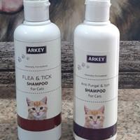 Shampo kucing anti kutu dan jamur PROMO 1 PAKET 250ml ARKEY