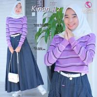 Pakaian Setelan Anak/Remaja Muslim Atasan & Rok Kinan #2 Set
