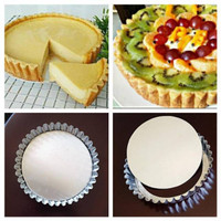Loyang Pie Bongkar Pasang Cetakan Kue Pai Pie Alat Dekorasi Kue Baking
