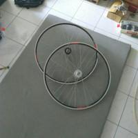 Wheelset 700c Araya 719 1 pasang