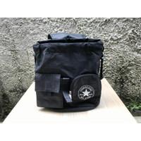 Tas Ransel Original Resmi | Converse Lifestyle Wrinkle Backpack Black