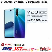 VIVO Y20 2021 RAM 4/64GB Y20 [4/64] GARANSI RESMI - Putih