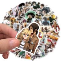 Sticker Stiker PVC Vinyl Anime Attack on Titan Anti Air - 25 pcs