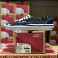 Sepatu Vans Authentic Black White Classic 100% Original BNIB Global