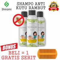Shampo Shirami Shampoo Anti Kutu Ampuh Menghilangkan Kutu Rambut