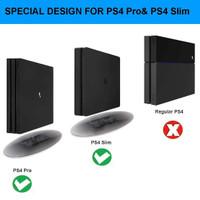 Dobe vertical stand PS4 Pro Transparent