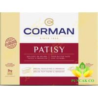 corman patisy butter sheet 2kg / corman butter sheet 2 kg