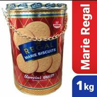 biskuit marie regal 1 kg kaleng special + extra bubble wrap