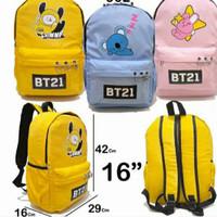 tas bts bt21 bag sekolah anak travel korea jungkook cooky chimmy koya