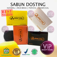 ⭐VIP⭐Sabun Dosting Whitening Natural Soap Pemutih BPOM Halal