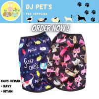 baju anjing dan baju kucing kaos hewan lucu printing