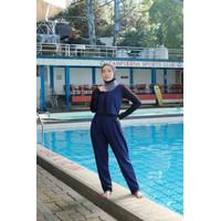 Baju Renang Wanita Muslim Muslimah Hijab Jumpsuit Jaimelavie Fae