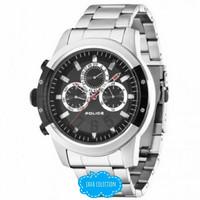 Jam Tangan Pria Police PL14381JSTB-02M Silver Black Original