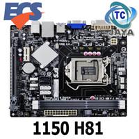 Motherboard mobo Intel LGA SOCKET 1150 H81 ECS - Mini