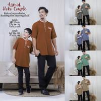 Baju Koko Couple Ayah dan Anak Terbaru Koko Lebaran Couple Azmid