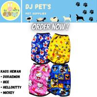 baju anjing dan baju kucing kaos hewan murah lucu