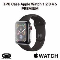 TPU Case Apple Watch 1 2 3 4 5 PREMIUM 38mm 40mm 42mm 44mm Soft iWatch
