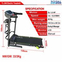 Treadmill Electric TL.246 Multi Function