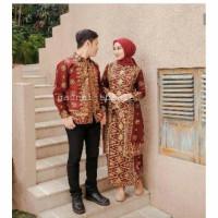 Set batik songket kurung u maron