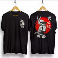 T-shirt Samurai Kanji / Baju Kaos Distro Pria Wanita Kaos Samurai