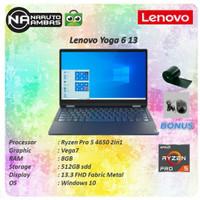 Lenovo Yoga 6 13 2in1 Touch Ryzen Pro 5 4650 8GB 512ssd Vega7 W10 13.3