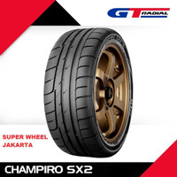 GT Radial Champiro SX2 195 / 55 R15 Ban Mobil RACING BALAP SEMI SLICK