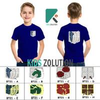Kaos Scout Legion Anak / Baju Scout Legion Anak / Kaos AOT Anak - S