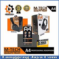 headset m-tech gaming A4 plus micropon headset PC/ laptop