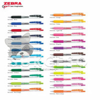 Zebra Sarasa Clip 0.5mm / Pulpen Gel Warna Lucu Murah Berkualitas