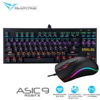 Keyboard mechanical tkl armaggeddon mka3c dan mouse alcatroz asic 9 pr