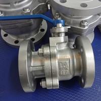 Ball Valve Cast iron Carbon Steel Flange JIS 10K 2 1/2  inchi DN 65