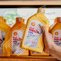 Oli Shell Helix HX6 SAE 10w 40 new 1 Liter