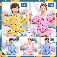 Piyama Anak Kekinian / Baju tidur umur 1-10tahun / Bahan premium impor