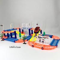 Mainan Track Electric Rail Car Baterai - Rel Kereta Track Mobilan