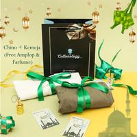 Cottonology Bundling Ramadhan (Kemeja + Chino Free Amplop & Parfume)
