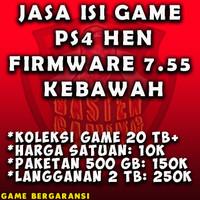 Isi Game PS4 HEN 5.05 - 6.72 Termurah dan Terlengkap