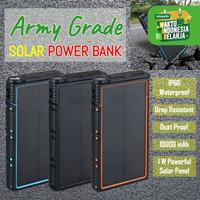 POWER BANK TENAGA SURYA PREMIUM QUALITY SOLAR POWERBANK ALLWEATHER