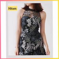 baju dress pesta anak 16-22thn perempuan remaja daisy gaun hitam