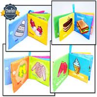 Buku Bayi Soft Book Bunyi   Baby Cloth Book Clothbook - Ukuran Kecil