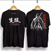 T-shirt Samurai Sekiro / Baju Kaos Distro Pria Wanita Kaos Samurai