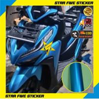Sticker Motor Metalik Doff Matte