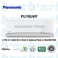 AC SPLIT PANASONIC 2 PK 2 PK R32 INVERTER - PU18UKP