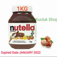 Nutella Spread / Selai Nuttela 1KG