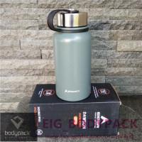 Botol Air Minum Eiger 600ML Water Bottle 910004930 001 - Olive Dawson