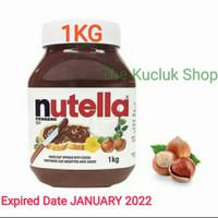 Nutella spread 1Kilogram /Selai Nutella 1KG