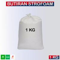 Butiran Styrofoam, Styrofoam Butiran 1Kg / Isi Bean Bag Butiran Styrof