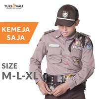 Baju PDL Satpam Seragam Kemeja Security Terbaru Kerja Lengan Panjang