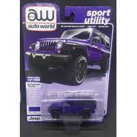 Auto World - 2018 Jeep Wrangler JK Unlimited Sport - Purple [ 2020 ]