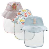 Topi Face Shield Baby | Topi Pelindung Wajah Bayi